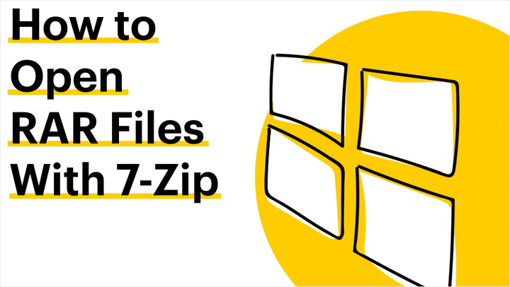How to Open RAR Files With 7-Zip