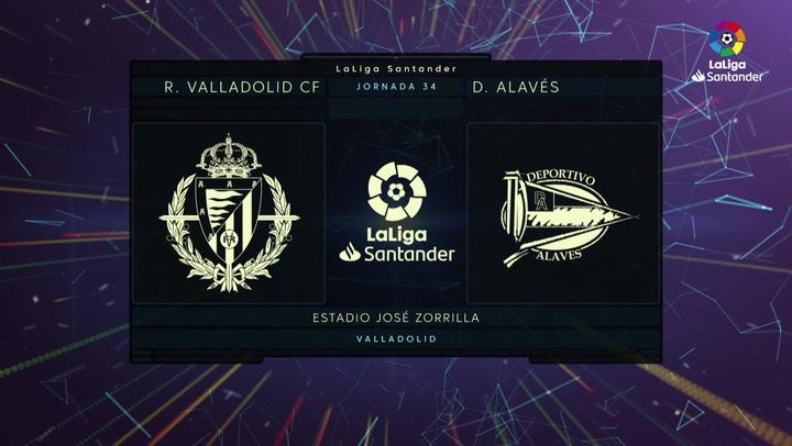 LaLiga Santander (J. 34): Valladolid 1-0 Alavés