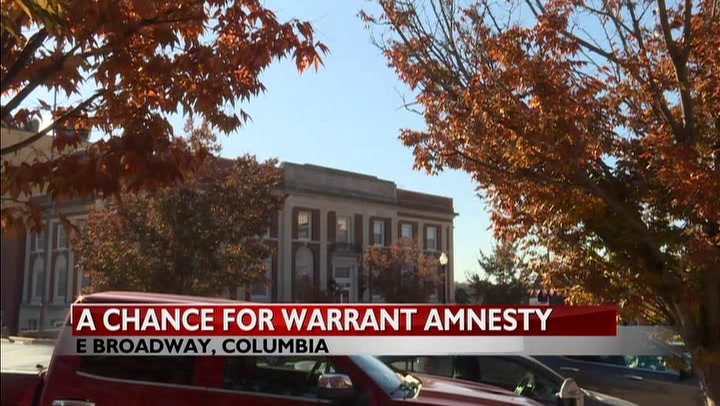 Columbia Municipal Court to offer warrant amnesty in December