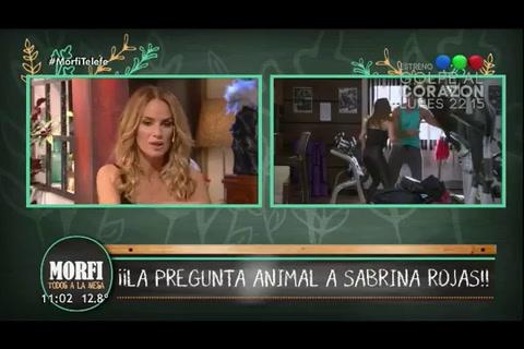 Sabrina Rojas contó que Luciano Castro tiene prohibido besar a dos mujeres en ficción