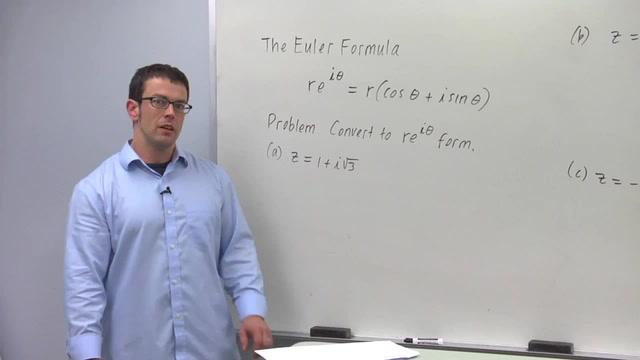 The Euler Formula - Problem 1