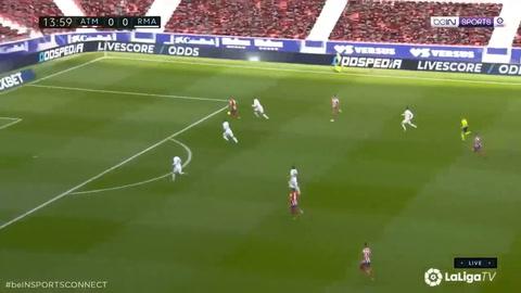 Atlético 1-1 Real Madrid (Liga de España)