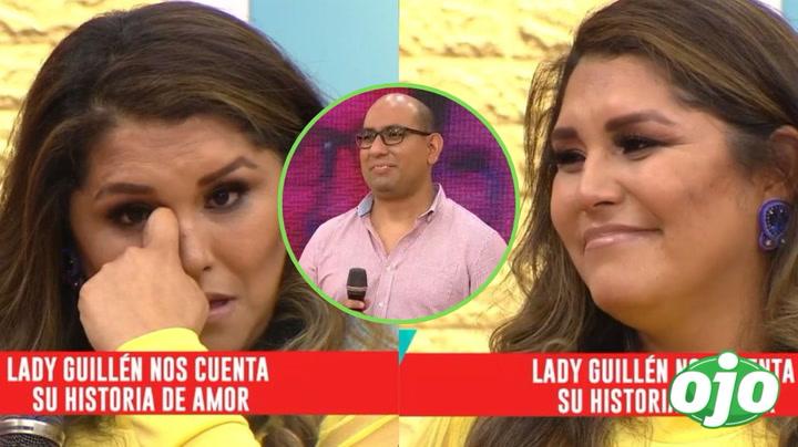 """Lady Guillén rompe en llanto al recordar cómo se enamoró de su pareja: """"no es cualquier hombre"""" │VIDEO"""