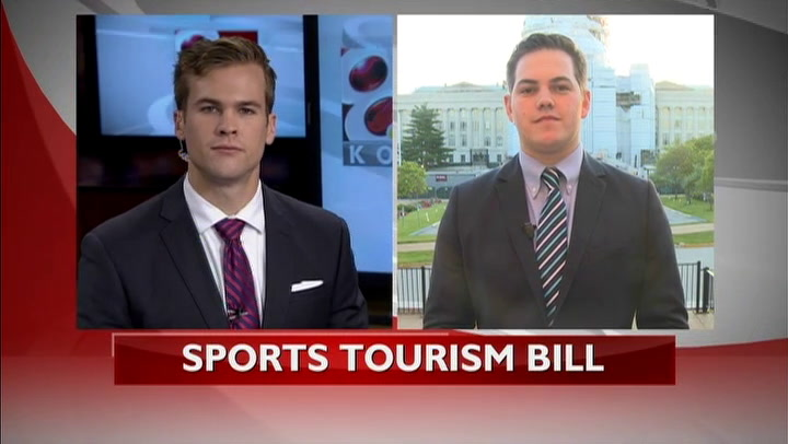 Bill regarding sports tourism in Kansas City and St. Louis awaits approval