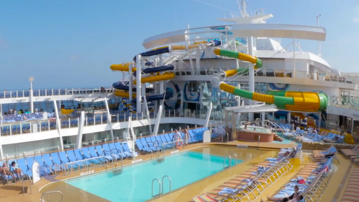Perfect Storm Water Slides On Harmony Of The Seas