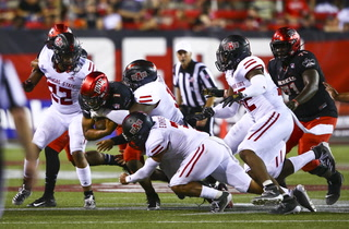 UNLV's first loss of season leaves questions at QB position
