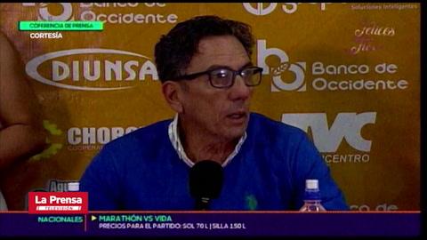 El malestar de Salomón Nazar tras la derrota de UPN ante Olimpia
