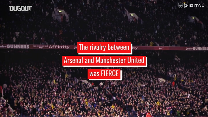 Arsenal's 1990s and 2000s rivalry with Manchester United