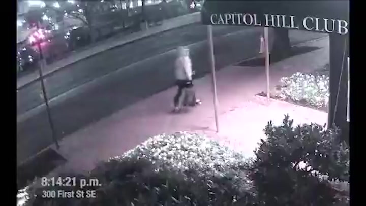 FBI release new footage of Capitol pipe bomb suspect
