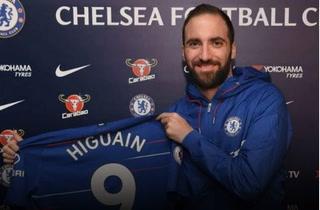 Oficial: 'Pipita' Higuaín deja el Milan y es nuevo jugador del Chelsea