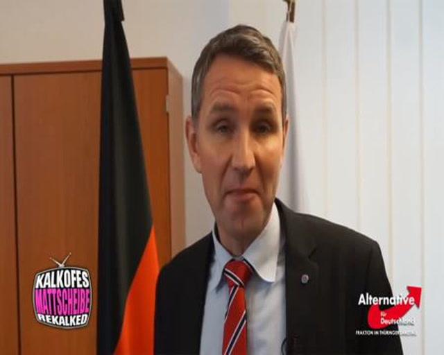 Gratulationen an Donald Trump - Björn Höcke - AfD