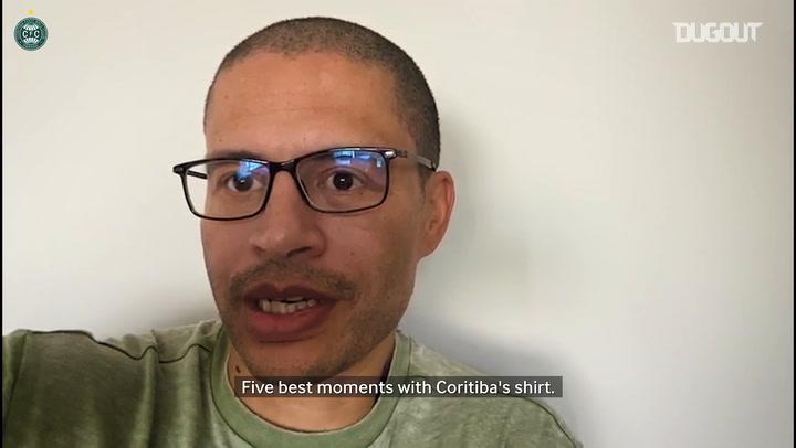 Alex's top five moments at Coritiba