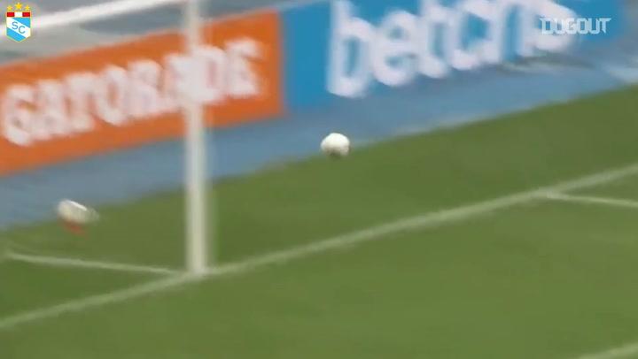 Martín Távara's free-kick goal vs Sport Boys