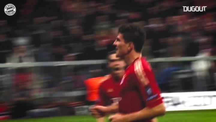 Gols do Bayern de Munique marcados contra equipes da LaLiga