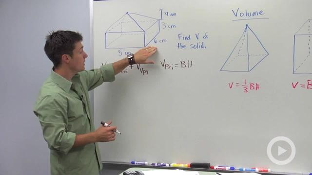 Volume of Pyramids - Problem 3