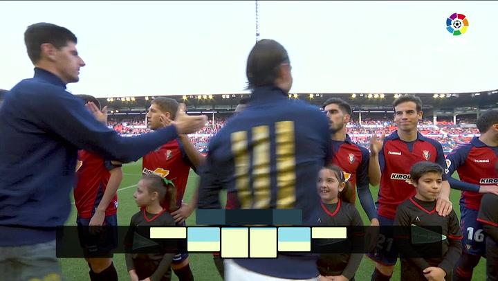 LaLiga Santander (J23): Resumen y goles del Osasuna 1-4 Real Madrid