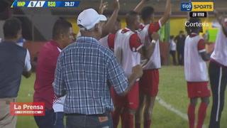 El gol de Kemsie Abbott, para Real Sociedad ante Honduras Progreso