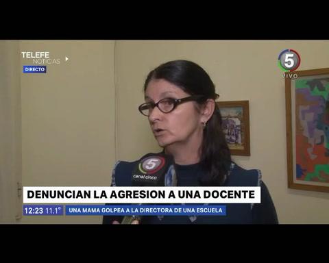 La directora de la escuela Francisco Netri fue golpeada por la mamá de un alumno