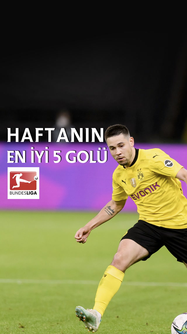 Bundesliga'da haftanın en iyi 5 golü