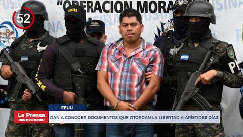 Otorgan libertad a hondureño Arístides Díaz en USA y otras noticias