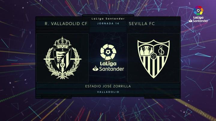LaLiga (J14): Resumen y gol del Valladolid 0-1 Sevilla