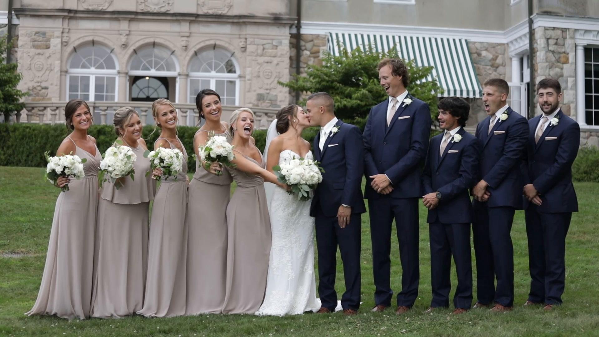 EMILY + ROSS | Bristol, Rhode Island | Blithewold Mansion