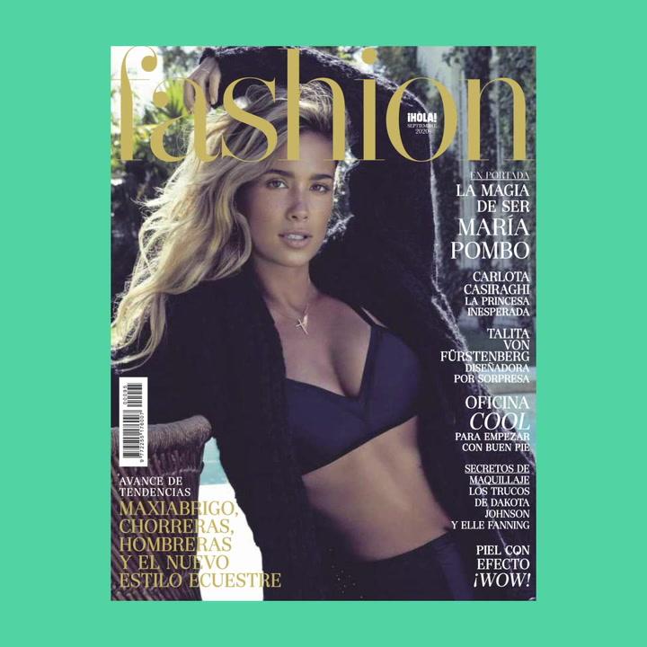 La magia de ser María Pombo, portada de FASHION septiembre