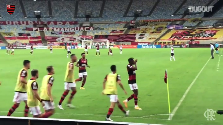 Flamengo draw agains Atlético-GO at Maracanã