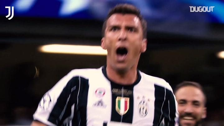 The best of Mandžukić at Juventus