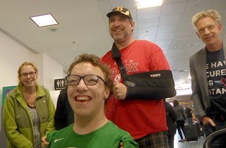Miracle Flights greets patient ambassador Michael Perrino in Las Vegas – VIDEO