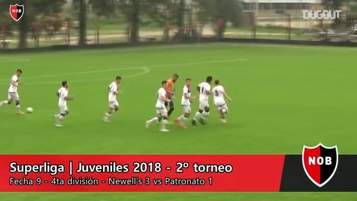 Highlights Of Newell's Vs Patronato In Under 18's Superliga