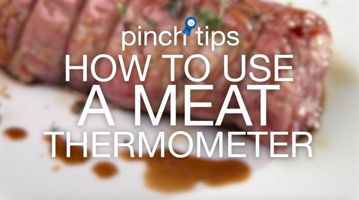 pinch tips: How to Use a Meat Thermometer