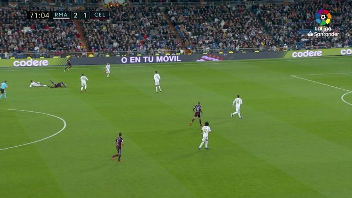 La entrada de Bale a Rafinha que le pudo costar caro