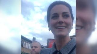 Kate om Meghans graviditet: - Jeg gleder meg!