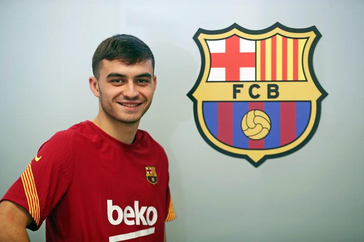 Entrevista a Pedri González, jugador del FC Barcelona