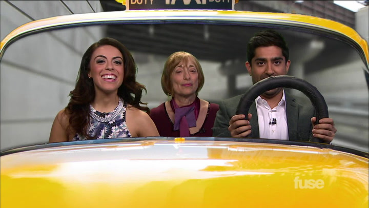 Author Catherine Hiller Takes a Ride in the Hash Cab