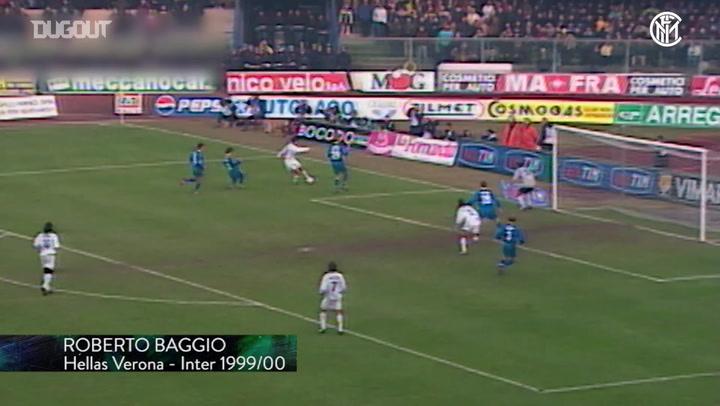 Inter's top five goals at Hellas Verona