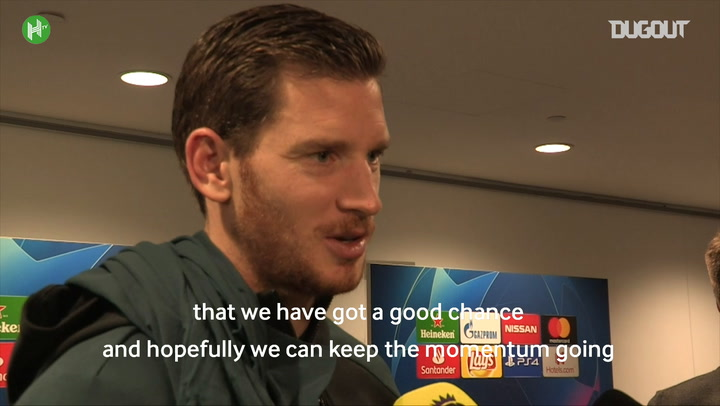 Jan Vertonghen Is Happy To Be Back After Spurs Beat Inter