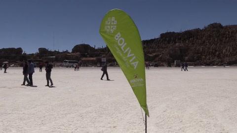 Bolivia promociona el gran salar de Uyuni como