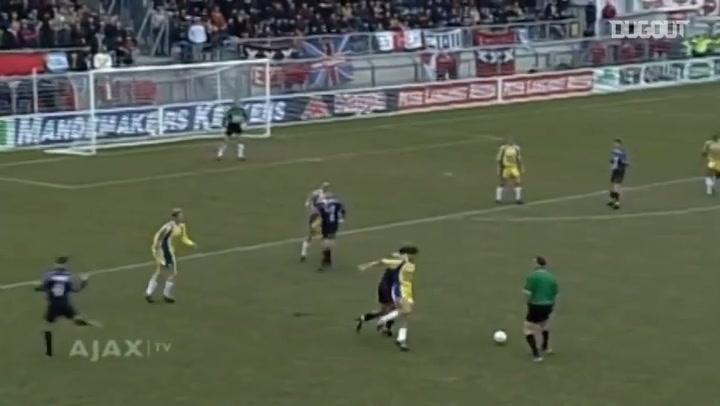 Michael Laudrup's long-distance stunner vs RKC Waalwijk