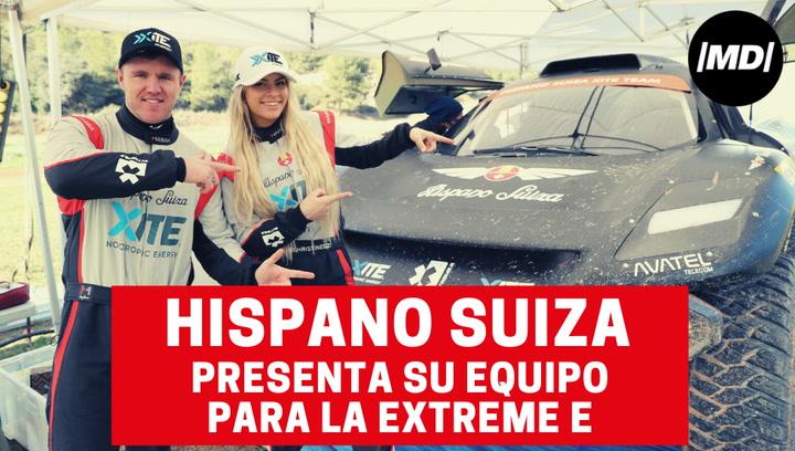 Hispano Suiza presenta su equipo para la Extreme E