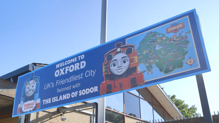 Oxford 'twins' with fictional island from Thomas the Tank Engine