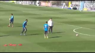Video: El golazo de Keylor Navas en el entrenamiento de Real Madrid