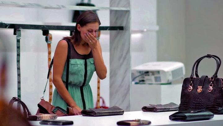 Brutal kampanje: Fikk sjokk da hun åpnet veska