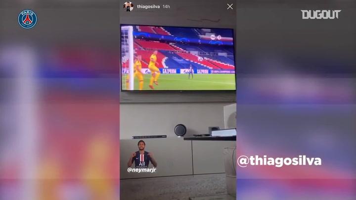 Siga a quarentena de Thiago Silva e atletas do PSG