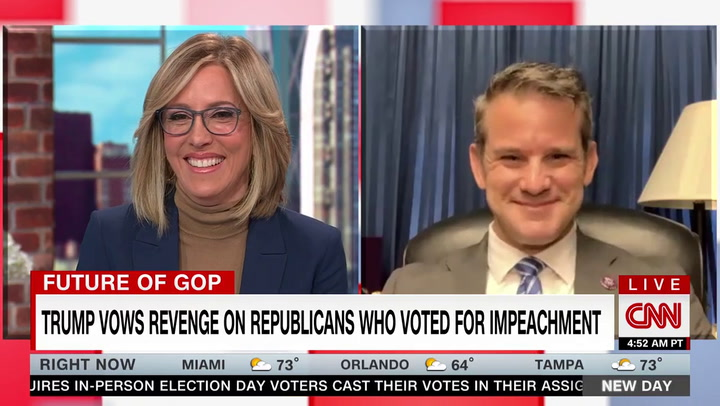 Kinzinger on Trump CPAC Speech: 'Looked Like Somebody That Just Needed His Monthly Dose of Adoration'