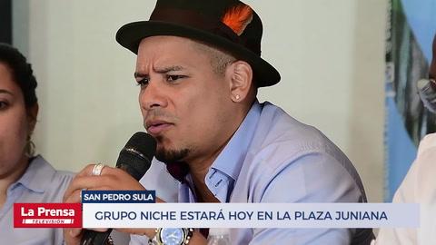 Grupo Niche estará hoy en la Plaza Juniana