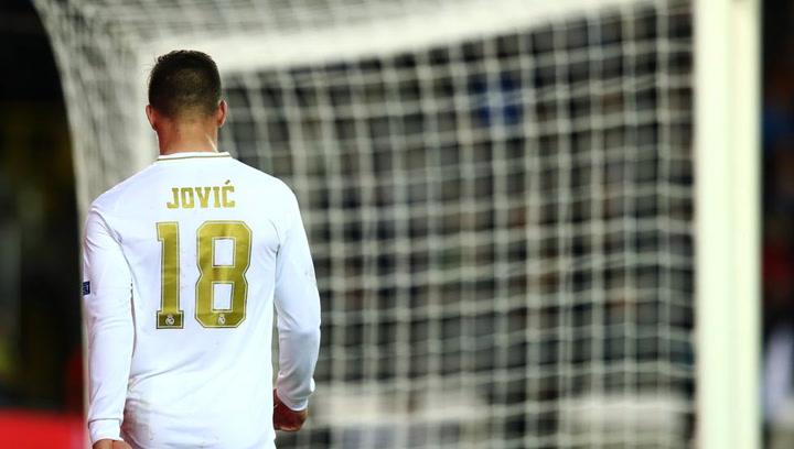 Así pasa Jovic la cuarentena en Serbia