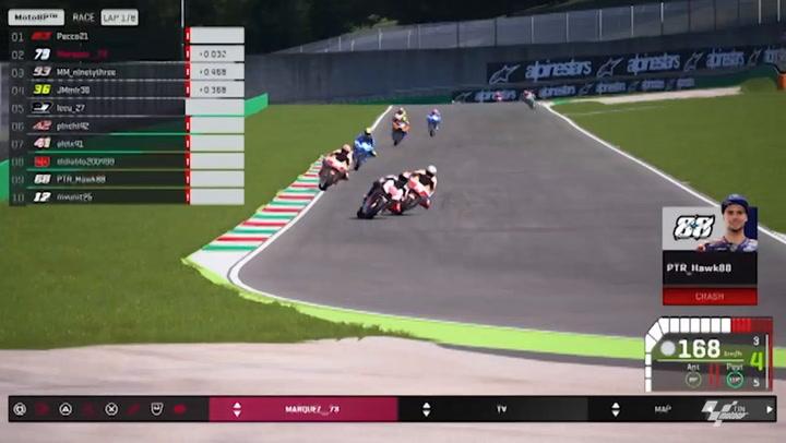 Los mejores momentos del equipo Repsol Honda en los GP Virtuales