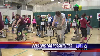 Community members joined in for the 6th annual Pedal for Possibilities to help ras
